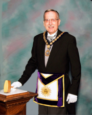 M.W. Walter R. Kaulfers, Grand Master of Masons for the State of New Jersey
